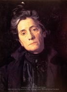 Mrs. Thomas Eakins painting reproduction, Thomas Eakins