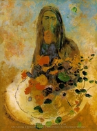 Mystery painting reproduction, Odilon Redon