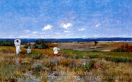 Near the Beach, Shinnecock painting reproduction, William Merritt Chase