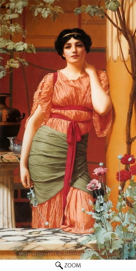 John William Godward, Nerissa oil painting reproduction