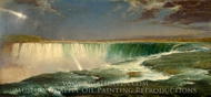 Niagara Falls painting reproduction, Frederic Edwin Church