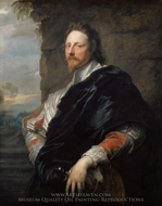 Nicholas Lanier painting reproduction, Sir Anthony Van Dyck