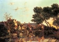 Norwich River Afternoon painting reproduction, John Crome