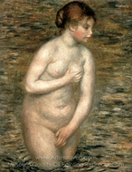 Nude in the Water painting reproduction, Pierre-Auguste Renoir