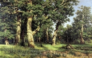 Oak Wood painting reproduction, Ivan Shishkin