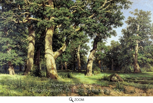 Ivan Shishkin, Oak Wood oil painting reproduction