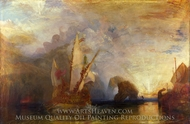 Odysseus Deriding Polyphemus painting reproduction, J.M.W. Turner