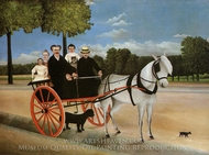 Old Junior's Cart painting reproduction, Henri Rousseau