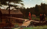 Old Mill (The Morning Bell) painting reproduction, Winslow Homer