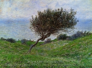 On the Coast of Trouville painting reproduction, Claude Monet