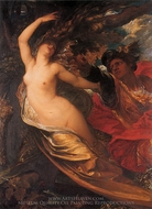 Orlando Pursuing the Fata Morgana painting reproduction, George Frederic Watts