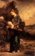 Orpheus painting reproduction, Gustave Moreau