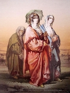 Ottoman Women 4 painting reproduction, Amedeo Preziosi