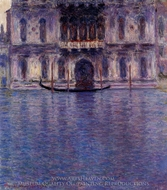 Palazzo Contarini painting reproduction, Claude Monet