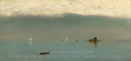 Passing off of the Storm painting reproduction, John Frederick Kensett