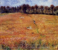 Path through the High Grass painting reproduction, Pierre-Auguste Renoir
