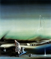 Paysage Surrealiste painting reproduction, Yves Tanguy