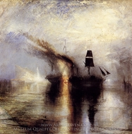 Peace, Burial at Sea painting reproduction, J.M.W. Turner
