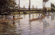 Perissoires painting reproduction, Gustave Caillebotte