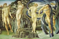 Perseus and Andromeda painting reproduction, Edward Burne-Jones