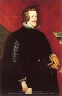 Philip IV painting reproduction, Diego Vel�zquez