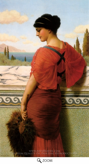 John William Godward, Phyleis oil painting reproduction