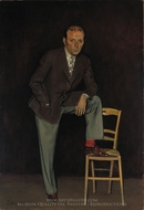 Pierre Matisse painting reproduction, Balthus