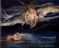 Pity painting reproduction, William Blake