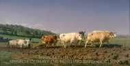Ploughing in Nevers painting reproduction, Rosa Bonheur