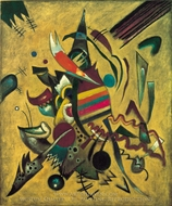 Points painting reproduction, Wassily Kandinsky