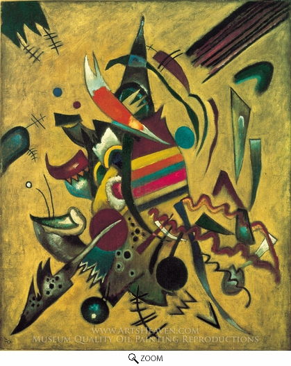 Wassily Kandinsky, Points oil painting reproduction