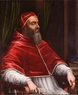 Pope Clement VII painting reproduction, Sebastiano Del Piombo