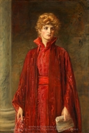 Portia painting reproduction, John Everett Millais