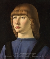 Portrait of a Boy painting reproduction, Jacometto