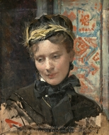 Portrait of a Lady painting reproduction, Raimundo De Madrazo