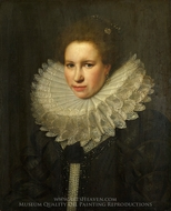 Portrait of a Woman painting reproduction, Michiel Van Miereveld