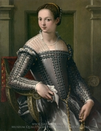 Portrait of a Woman painting reproduction, Italian Painter