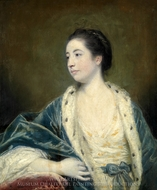 Portrait of a Woman painting reproduction, Sir Joshua Reynolds
