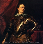 Portrait of a Young General painting reproduction, Sir Anthony Van Dyck