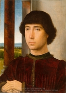 Portrait of a Young Man painting reproduction, Hans Memling