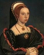 Portrait of a Young Woman painting reproduction, Hans Holbein, The Younger