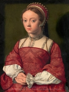 Portrait of a Young Woman painting reproduction, Netherlandish Painter