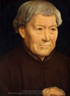 Portrait of an Old Man painting reproduction, Hans Memling