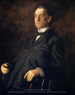 Portrait of Asburyh W. Lee painting reproduction, Thomas Eakins