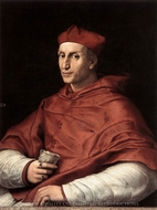 Portrait of Cardinal Bibbiena painting reproduction, Raphael Sanzio