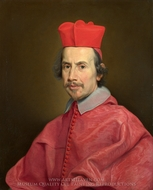 Portrait of Cardinal Marco Gallo painting reproduction, Giovanni Battista Gaulli