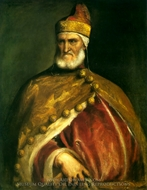 Portrait of Doge Andrea Gritti painting reproduction, Titian