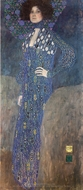 Portrait of Emilie Floge painting reproduction, Gustav Klimt