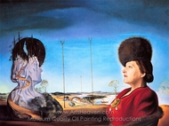 Portrait of Frau Isabel Styler-Tas painting reproduction, Salvador Dali (inspired by)