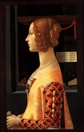 Portrait of Giovanna Tornabuoni painting reproduction, Domenico Ghirlandaio